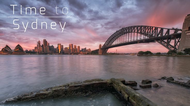 A timelapse video about Sydney!