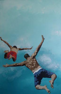 saut libre 2... #Art #Artiste