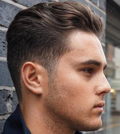 men's tapered haircut for wavy hair #menshaircutideas   Mens Hair ...