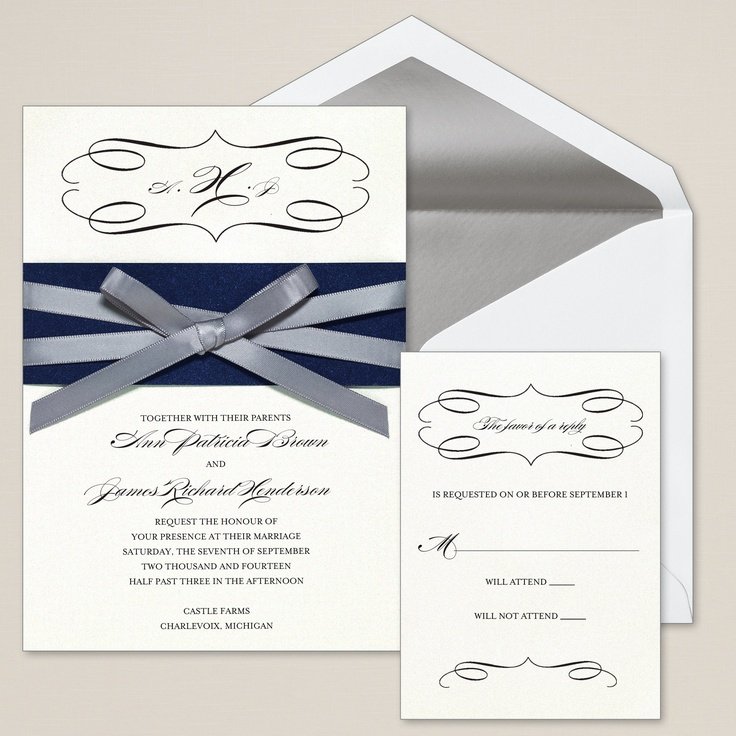 589 best Weddings - Stationery - Invitations images on Pinterest ...