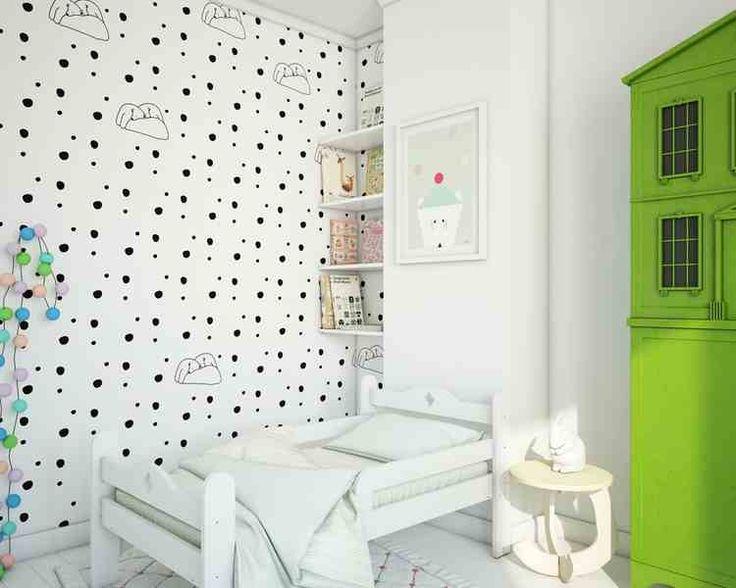 Tapeta Polar Bears biała - Sklep Toto Design