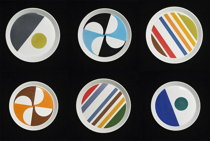 Cool modern Gio Ponti Plates