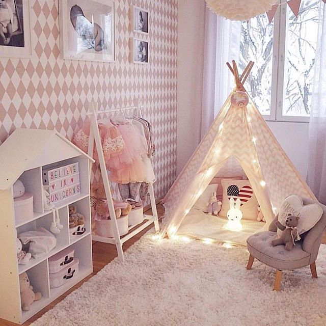 From Mk Maison The Sweetest Little Play Area Diy Girls Bedroom Cool Kids Rooms Toddler Bedroom Girl