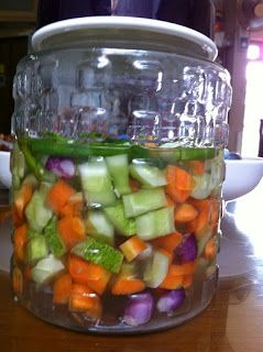 Dapoer Mariska: How To Make Acar Timun (Indonesian Pickled Cucumber)