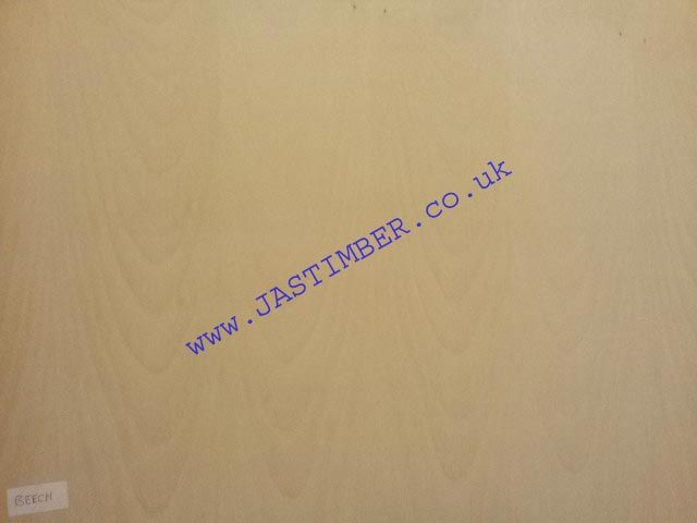 Real Veneer BEECH-1-Side 2440x1220x3.6mm - 4mm American MAPLE PLYWOOD @ JAS Timber Supplies Blackburn Lancashire North-West UK.