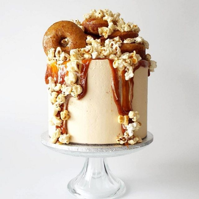 SALTED. CARAMEL. CAKE. Need we say more?! Popcorn, donuts ...