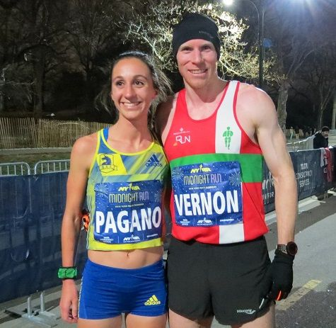 RunnersWeb   (RRW) Athletics: Pagano, Vernon Win NYRR Midnight Run