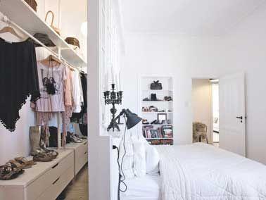 Déco chambre - 10 dressing futés dans la chambre parentale