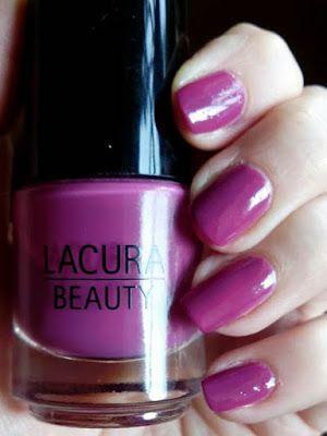 Bilingual Blah Blah: [Lacke in Farbe ... und bunt!] - Magenta mit Sweet Grape von Lacura Beauty
