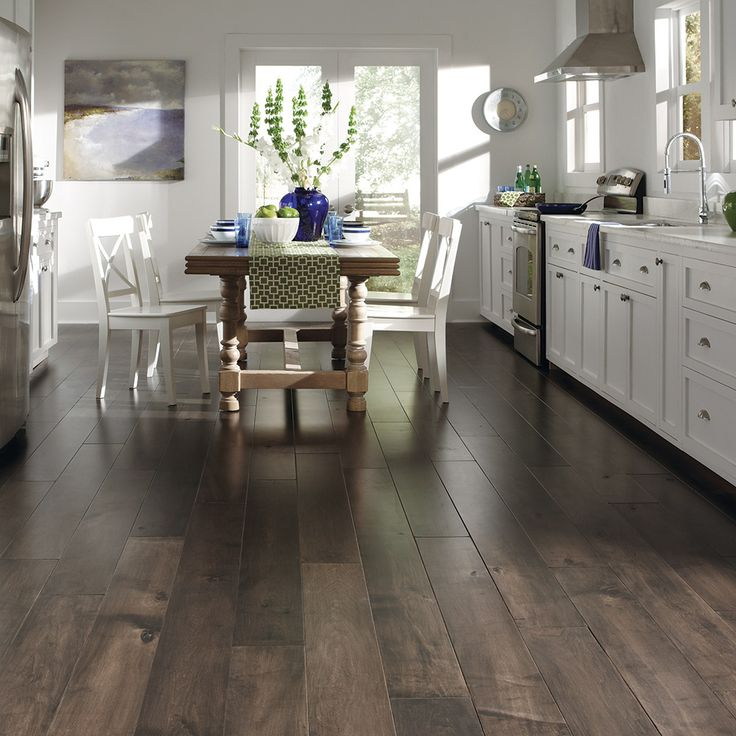 Dining Room Flooring Ideas Part - 27: Hardwood Floors - Mannington Flooring, Versailles Maple, Sustainable, Low  VOC, US Made