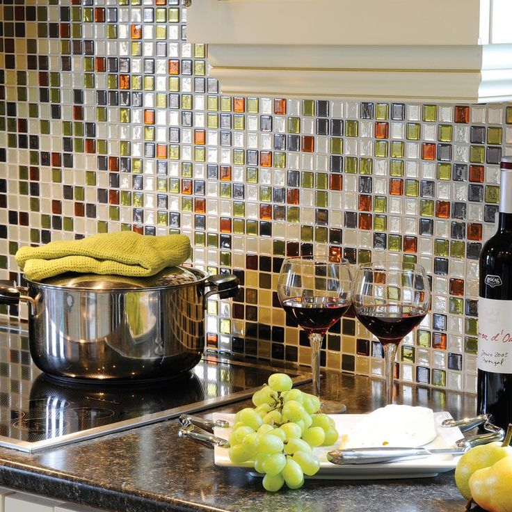 Green Kitchen Backsplash Ideas: Best 25+ Mosaic Wall Tiles Ideas On Pinterest