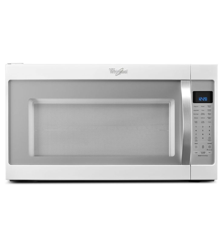 Whirlpool Ft Over The Range Microwave Sensor Cooking Controls White Ice Common Actual