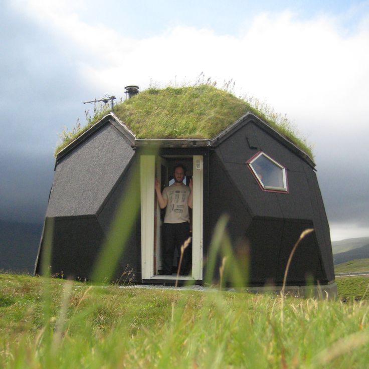 Tiny Geometric Igloo Home Located In Kvivik Well Between