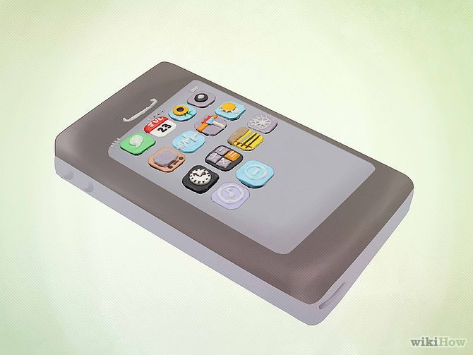 Make an iPhone Cake