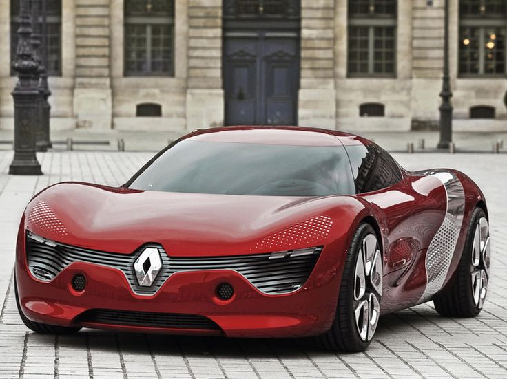 French Concept Cars: Renault DeZir Concept