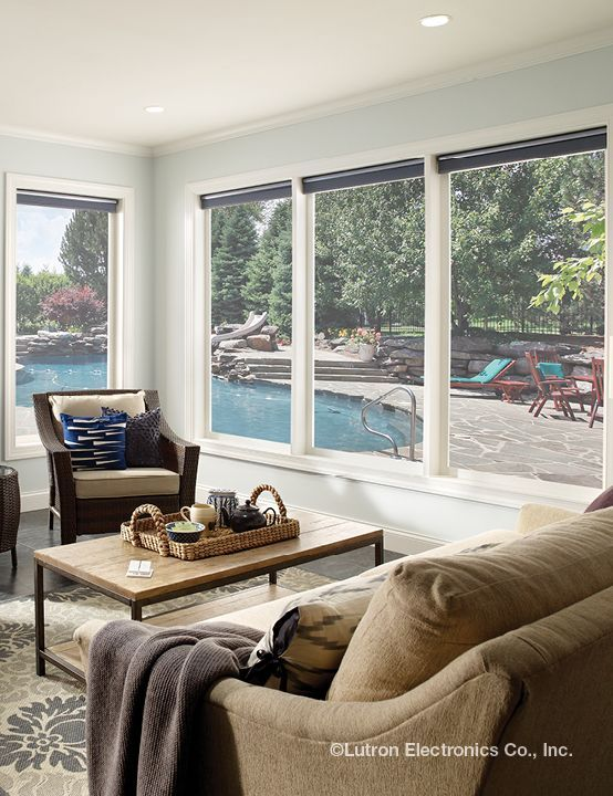 Wireless shades are perfect for your sunroom. Why not explore your options?