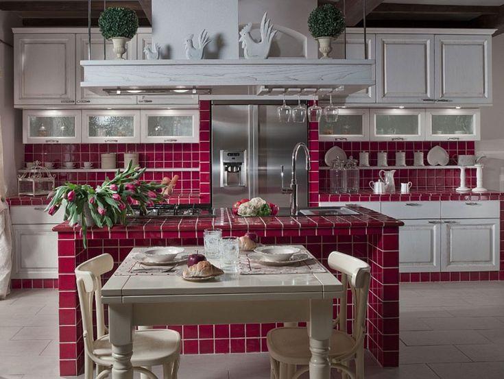 Cucina in muratura moderna n.06