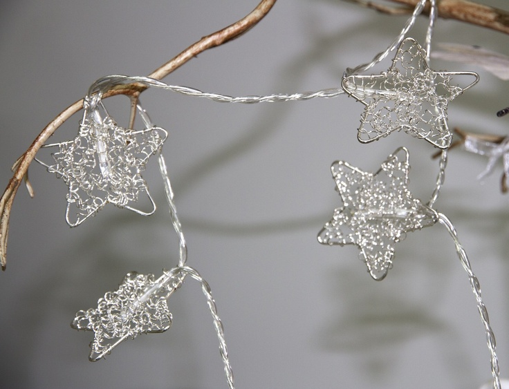 Battery Operated Fairy Lights - Star Garland