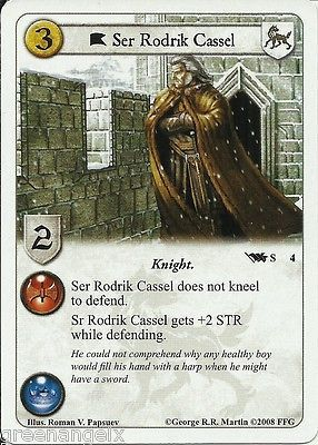 A game of #thrones #living card game lcg - ser rodrik #cassel x2,  View more on the LINK: http://www.zeppy.io/product/gb/2/361680281277/