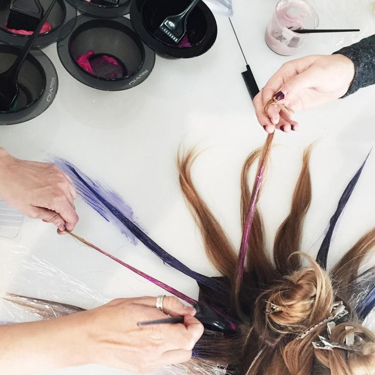 Q&A With KL Christoffersen, the Stylist Behind Fluid Hair Painting | Modern Salon