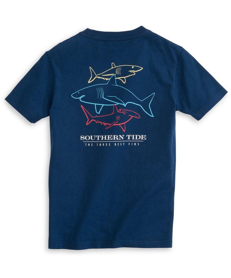 Southern Tide - Three Best Fins Tee