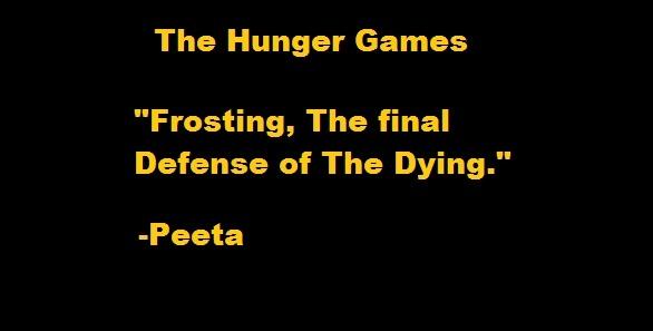 Peeta The Hunger Games: The Hunger Game