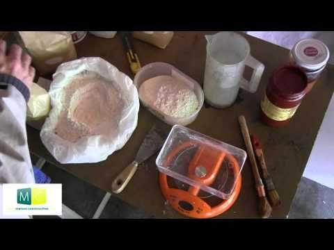 Fabriquer peinture à la chaux - YouTube