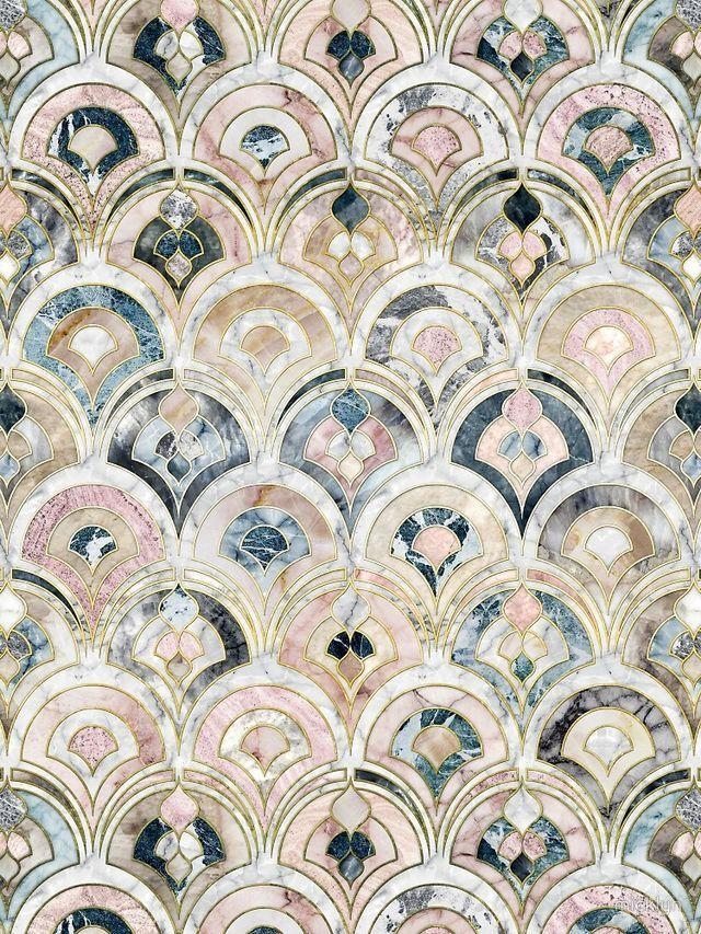 pastel mosaics
