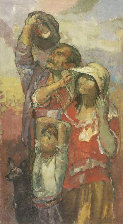 """Familia Campesina"" por Juan Carlos Castagnino"