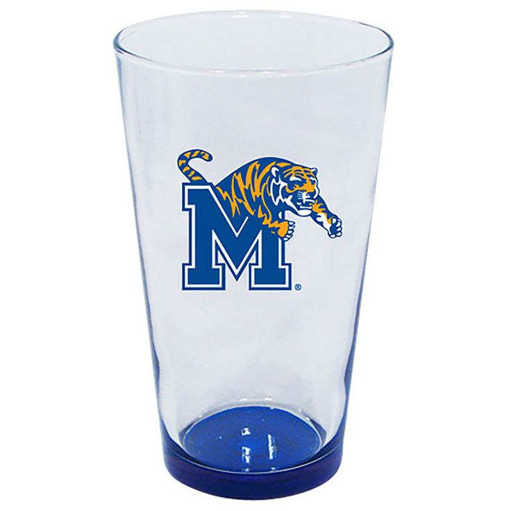 Memphis Tigers 16oz. Highlight Bottom Mixing Glass