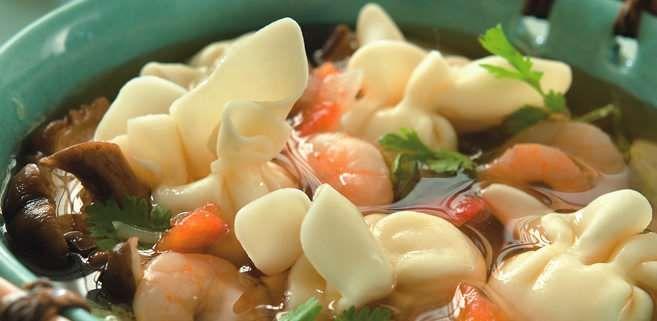 La Salteña   Recetas   Sopa China de Sacotinos