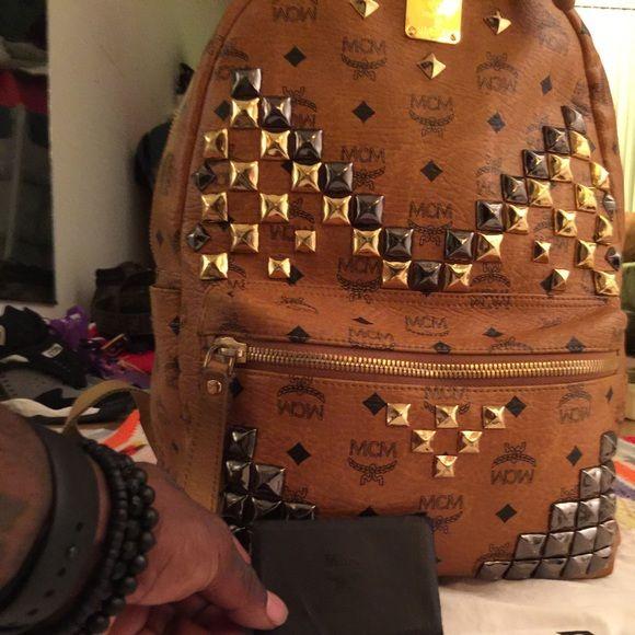 Mcm bookbag and belt Mcm bookbag and belt MCM Bags Backpacks