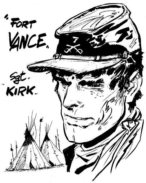 Hugo Pratt - Sgt. Kirk