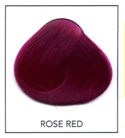 violet red hair | directions semi permanent hair dye rose red rose red semi permanent ...