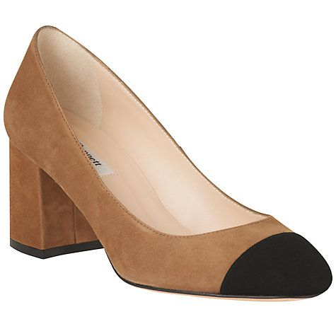 Buy L.K. Bennett Francesca Block Heeled Court Shoes Online at johnlewis.com 80 on sale they still have a size 8