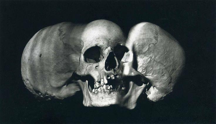 Irving Penn - Wide Skull (A), New York, 1993