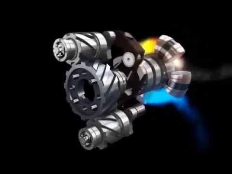 Новый тип двигателя - YouTube