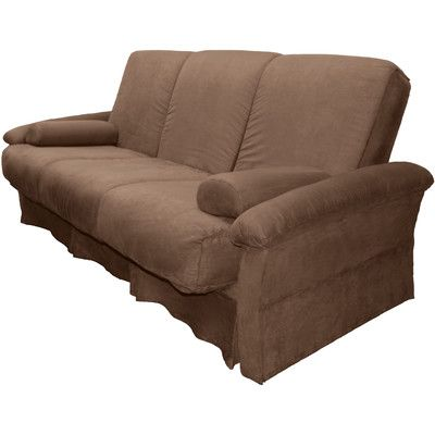 perfect sit n sleep futon chair size  full upholstery  suede chocolate brown   best 25  futon chair ideas on pinterest   small futon sofa bed