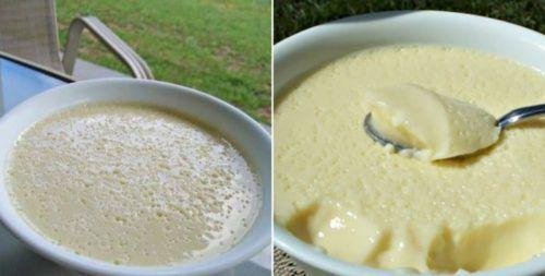 Ínycsiklandó, lágy vaníliás krémdesszert 10 perc alatt elkészíthető édes finomság! - Ketkes.com