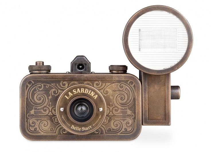 neeeeed: Sardina Camera, Belle Stars, Steampunk Camera, Belle Starr, Sardine, Lasardina, Products, Lomographi La, Sardina Belle