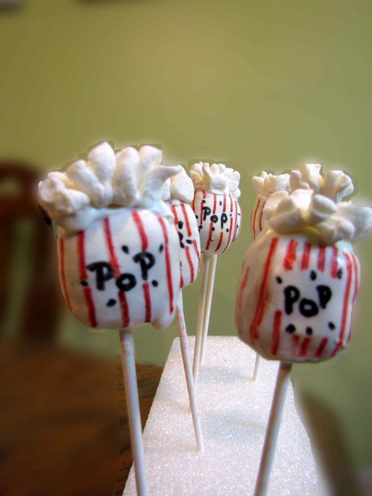 Baby shower pops:  She's about to Pop: Popcorn Cakepops, Cakes Pop, Cakes Cakepops Cupcakes, Cake Pops Cakes Cupcakes, Pop Corn, Corn Cakes, Popcorn Pops, Cute Cakes, Pop Cakes