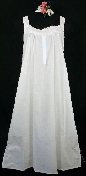 Want 100% Cotton Nightwear?  Visit our website www.thewhitecottongown.com and see the many styles available.