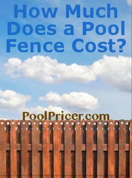 How much does a pool fence cost? >> http://www.poolpricer.com/pool-fence-cost/