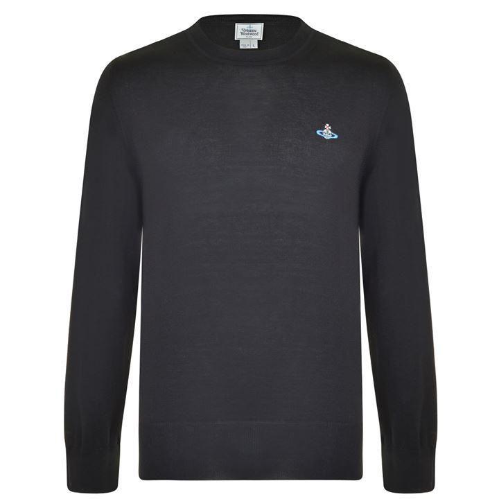 Vivienne Westwood Man Crew Neck Sweatshirt: Black