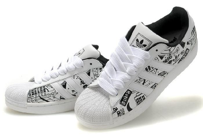 Adidas Originals Superstar 2 Biały Czarny Karakul Jazda Na Deskorolce Buty