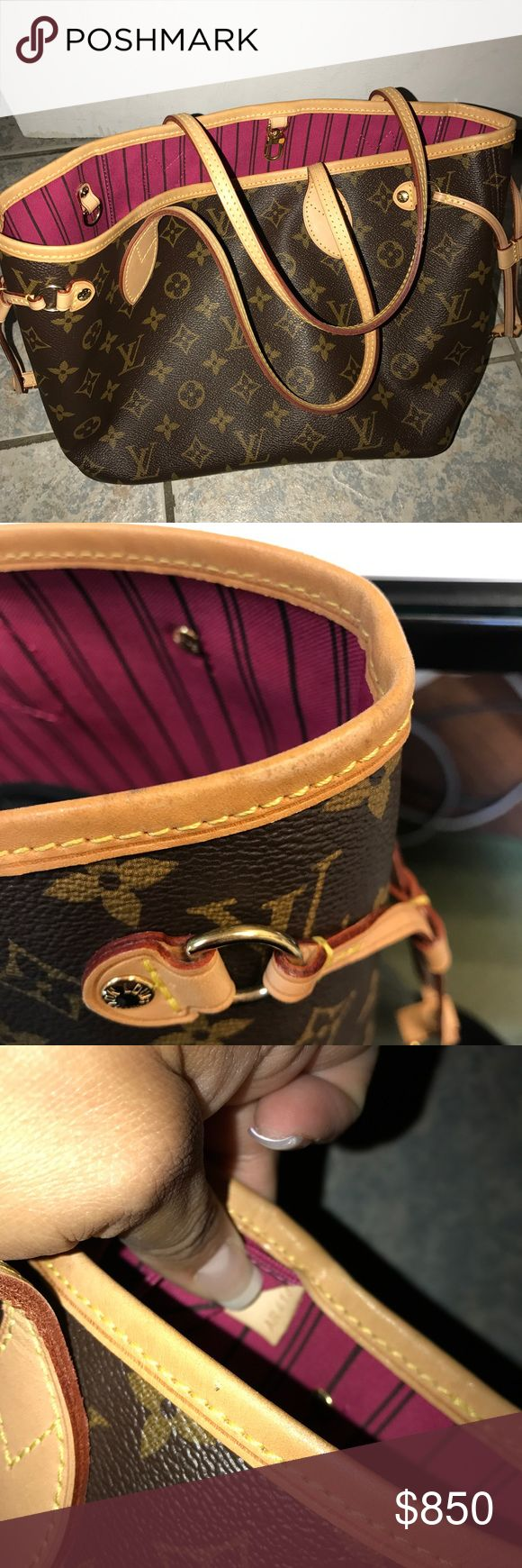 Louis Vuitton Neverfull Pm Good condition, has few stains inside and trim around bag shows light wear. No dustbag or box Louis Vuitton Bags Totes
