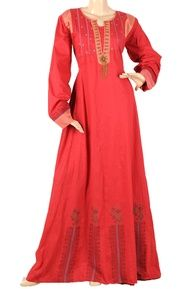 #abaya #red #rouge http://www.photohijab.com/