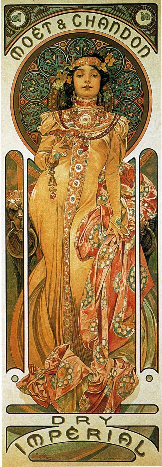 Inspiration for Luna's Art Nouveau Guitar