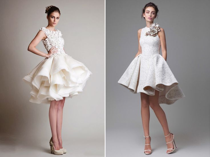 Best 25+ Short Wedding Dresses Ideas On Pinterest