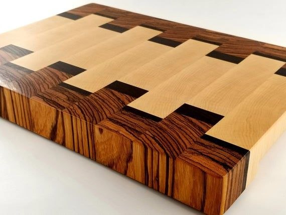 Wood, Cutting Board, Chopping Block, Wood Cutting Board, End Grain, Gift for the Chef, Husband, Fath